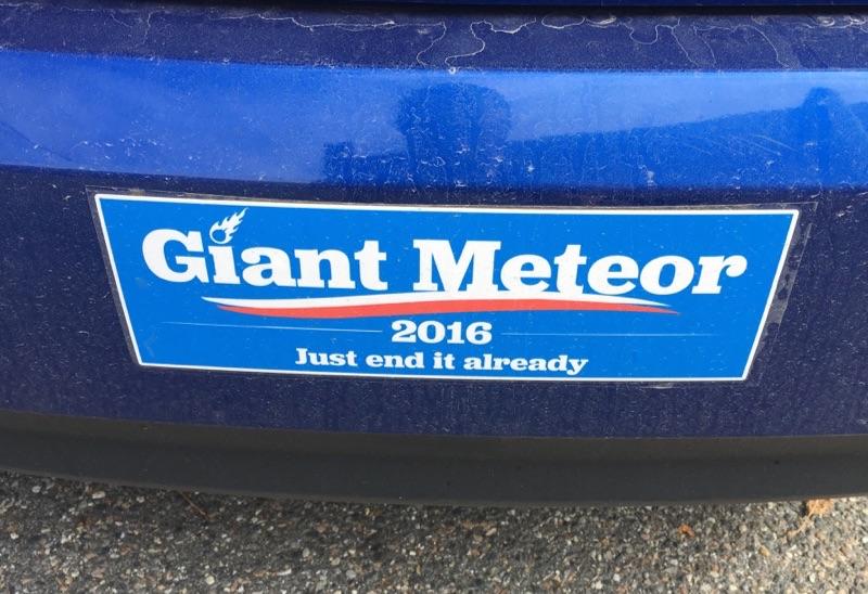 giant meteor